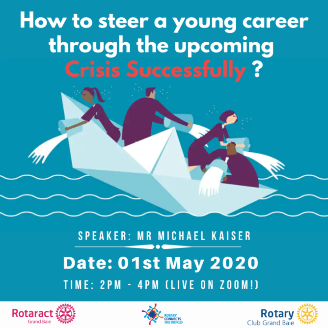 "Rotaract Webinar Workshop ""How to steer a young career through the upcoming crisis successfully"""